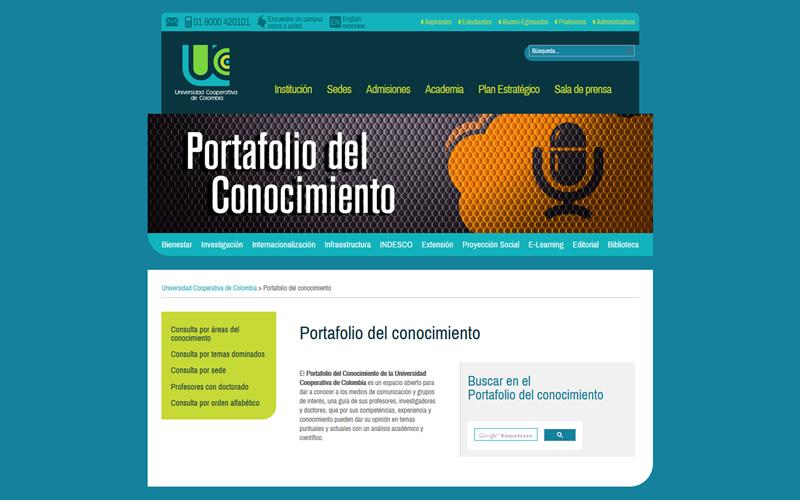 Portafolio del Conocimiento UCC